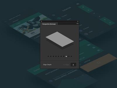 Perspective Mockups - Photoshop Plugin webdesign websites ui design web flat web design free psds psds free perspective plugin