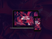 Free Website PSD home page