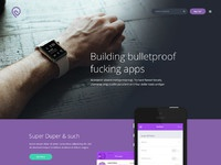 Website template tork