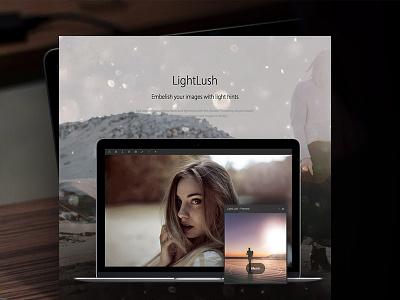 LightLush Photoshop Plugin light hints lens flares ui effects lightlush photoshop plugin