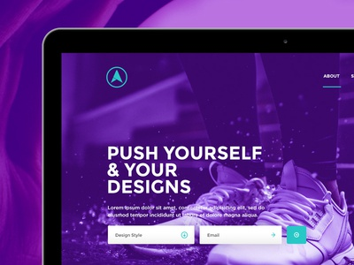 Eclipse Free Website Psd Template Header