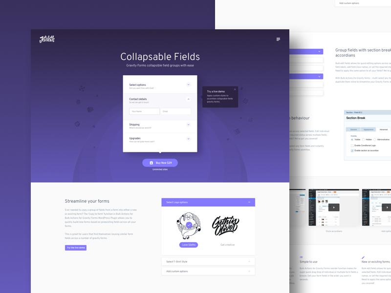 Sales landing page design interface design ux website design web design ui