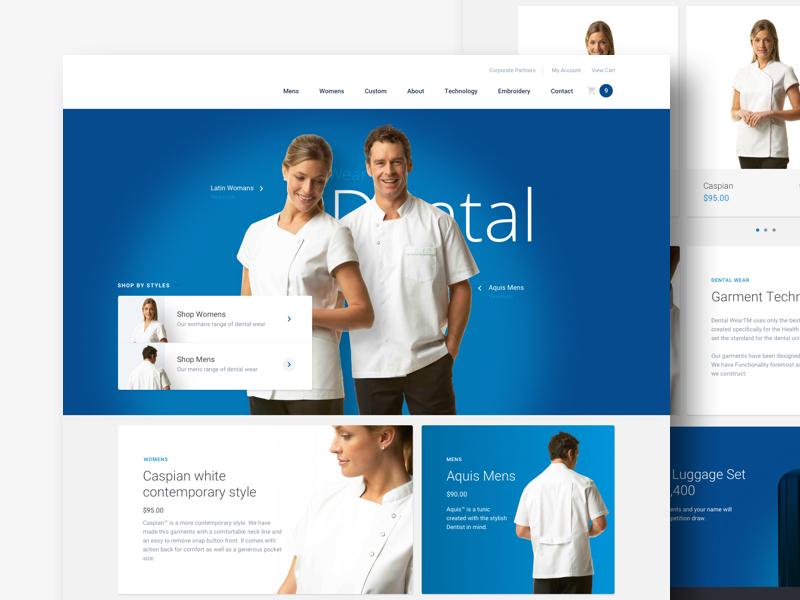 eCommerce Website ecommerce interface design ux website design web design ui