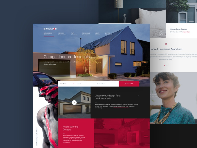 Website Design interface design ux website design web design ui