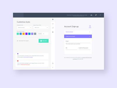 We're building somthing big interface design ux website design web design ui