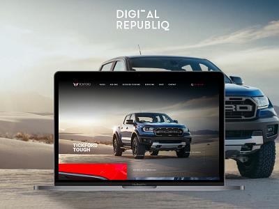 Tickford redesign mockup website website design webdesign interface design web design web design ui
