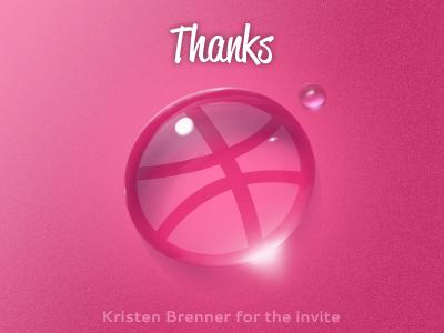 Thankyou dribbble invitation thanks invite