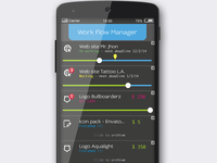 app Work Flow Manager Android Lucarossiweb