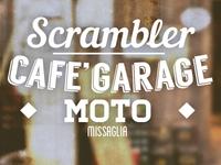 Scrambler Garage Old Style Logo Lucarossiweb