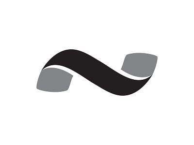 Nucleus - Wave art vector illustration branding illustrator ui icon logo design