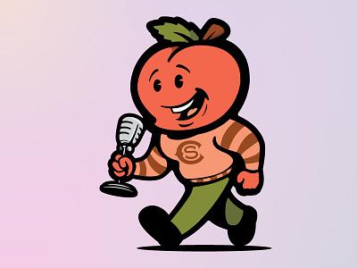 Creative South Podcast Mascot illustrator logo art design illustration vector