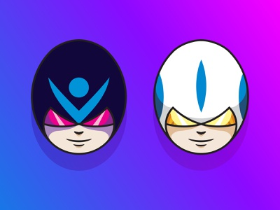 Space Rangers - Series 002 space scifi illustrator icon art logo design illustration vector
