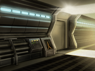 Ship life procreate app spaceship