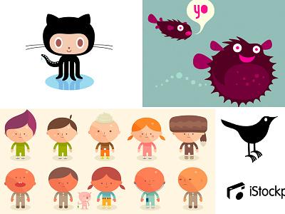 Pandodaily simon oxley bitly turntable.fm logo twitter animal oxley cartoon article character idokungfoo simonox