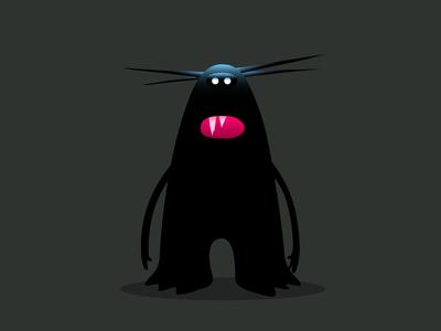 irritable bowel irritable halloween horror spikes teeth creature monster colour fantasy dribbble illustration mascot cartoon design character