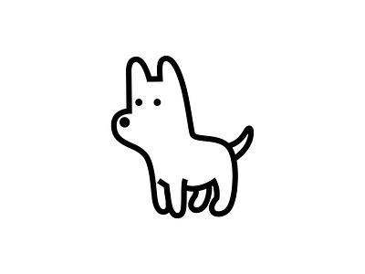 OK-9 obedient dog illustration canine pet dog branding logo animal dribbble mascot illustration design cartoon character