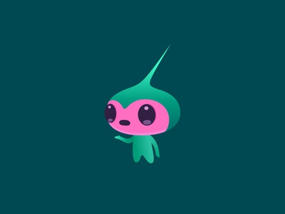 imp colour fantasy dribbble mascot illustration design cartoon character
