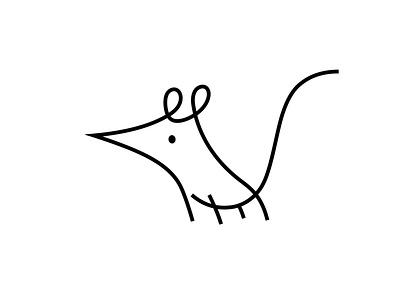 cheesy logo cheesy string rat rodent mouse logo branding animal dribbble mascot illustration design cartoon character