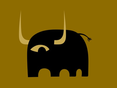 El ganado vacuno beef cow bovine bull spain monster colour branding fantasy animal mascot illustration design cartoon character