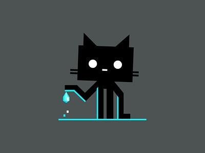 plop, plop ux code github octocat branding logo dribbble mascot illustration design cartoon character