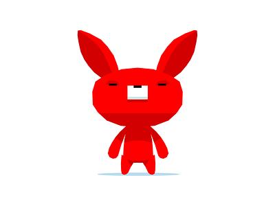 behold, Rabot technology animals robot rabbit branding dribbble mascot illustration design cartoon character