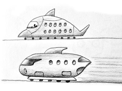 Trains railway transport trains illustration design cartoon