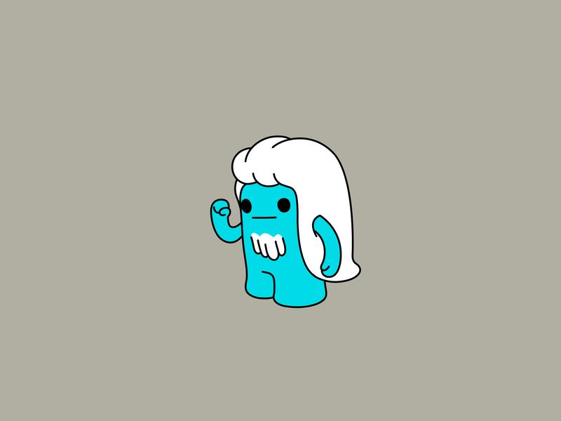Dream believer colour fantasy vector dribbble illustration design mascot cartoon character