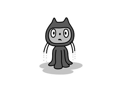 Octothat coding internet technology octocat github branding logo fantasy animal illustration mascot design cartoon character