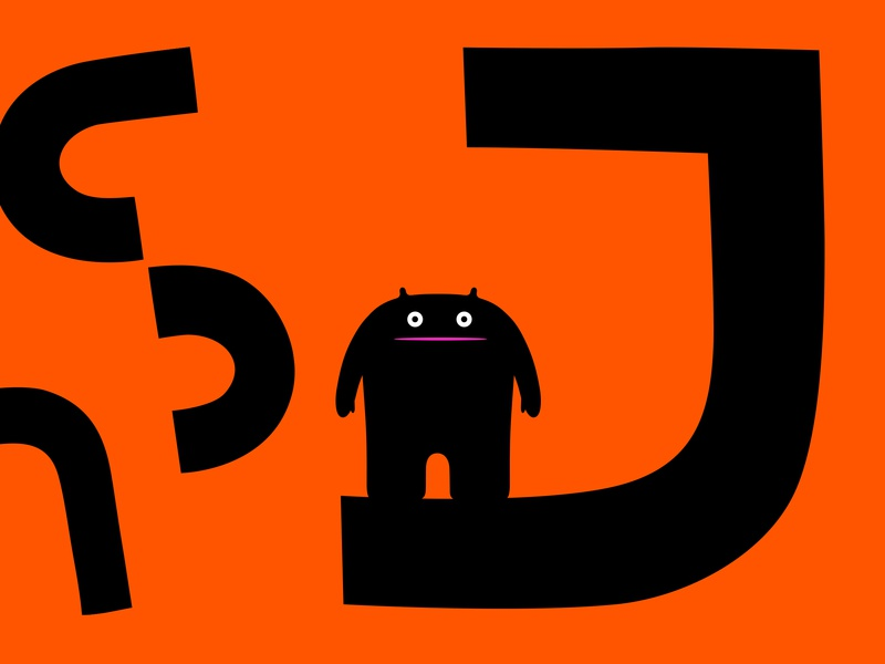 Dakanji branding monster colour fantasy vector dribbble illustration mascot design cartoon character