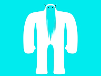 oh grrr beard behemoth giant ogre logo monster colour fantasy dribbble illustration mascot design cartoon character