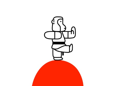 monkey ape monkey shaolin martial arts karate fantasy animal illustration mascot design cartoon character