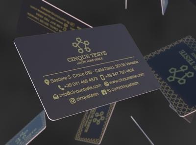 Cinqueteste Business Card