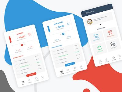 Aplicativo redesign ui design aplicativo app ui