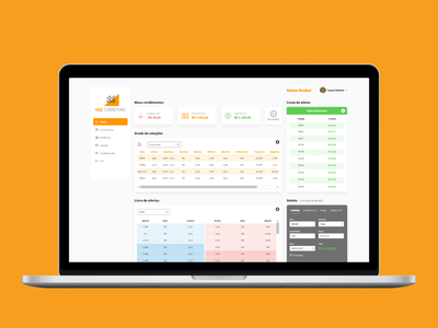 Trader investment money ui ux trader trading analytics redesign