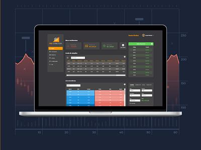 Trader trading dark ui dark dark theme ui design finance money app ui ux analytics investment ui trader