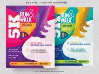 5k Run Flyer
