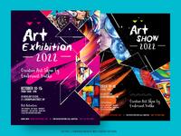 Art Show Event Flyer