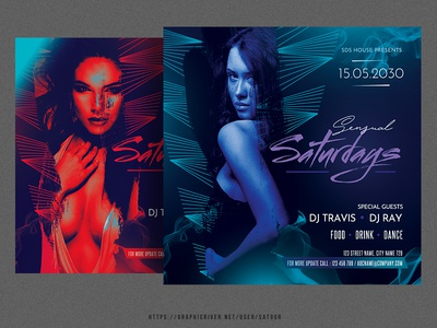 Sensual Saturdays Flyer
