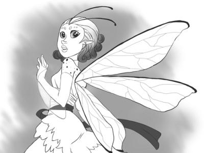 Rosepetal - Character Design character design illustration