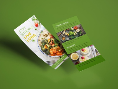 Healthy Life flyer design