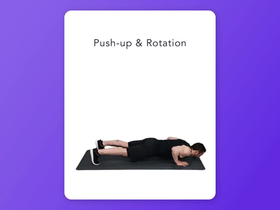 Workout App Motion fitness motion after effects