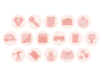 Brand Icons branding badge icons flat flatdesign illustrator illustraion