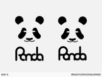 Panda - Day 3 #DailyLogoChallenge