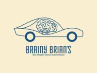 Self-Driving Car Logo - Day 5 #DailyLogoChallenge