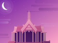 Illustration - Royal Thai Palace