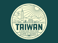 Taiwan Badge