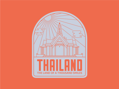 Thailand Badge
