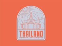 Thailand Badge