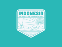 Indonesia Badge
