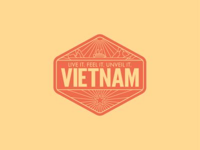 Vietnam Badge